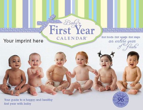 The Pregnancy Calendar-Your imprint here