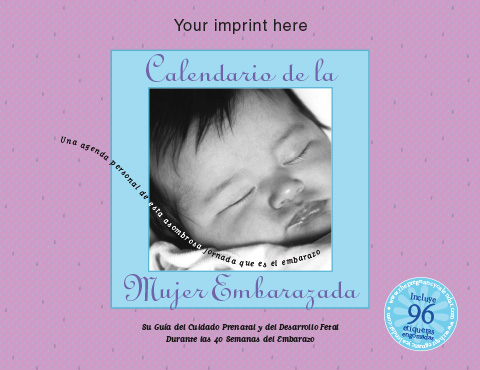 The Pregnancy Calendar-Spanish-Your imprint