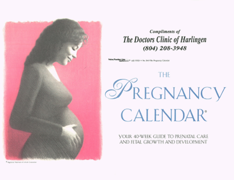 The Pregnancy Calendar-Clare Wood